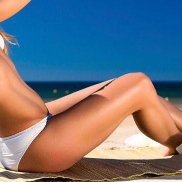 laser bikini line